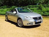 2007 Volkswagen Eos 2.0 TDI SPORT Coupe / Convertible Manaul Silver Clean Examp