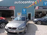 BMW 3 SERIES 3.0 325D M SPORT 2d AUTO 202 BHP FIANANCE FROM &po (grey) 2010