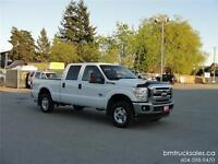 2011 FORD F-250 SUPER DUTY XLT CREW CAB SHORT BOX 4X4 DIESEL