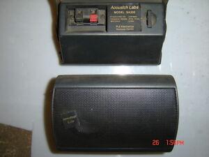 Hauts parleurs Acoustch Labs model SA300 (2 )