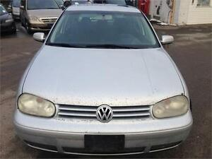 2003 VOLKSWAGEN GOLF GLS,PW,PL,AC,SUNROOF,HEATED SEAT,E-TEST
