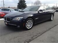 2009 BMW 7 Series 750i CAM NAV SUNROOF LEATHER NO ACCIDENTS