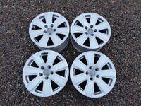 "Set of 4 Audi Genuine Alloy Wheels - 16"""