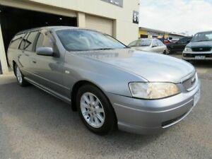2004 Ford Falcon BA MkII Futura (LPG) Grey 4 Speed Auto Seq Sportshift Wagon Werribee Wyndham Area Preview