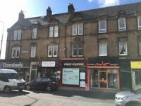 Shop to rent let in Corstorphine walk in condition high footfall next to Dominos Costa Ladbroke