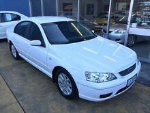 2006 Ford Falcon BF Futura White 4 Speed Auto Seq Sportshift Sedan Hobart CBD Hobart City Preview