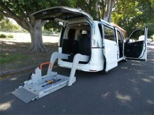 2013 Nissan Serena Wheelchair Access welcab 2013 Hybrid White Automatic Wagon Concord Canada Bay Area Preview