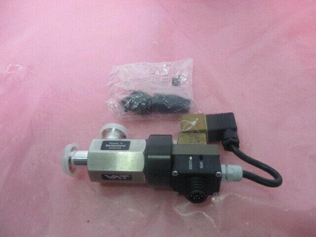 VAT 24324-KA41 Vacuum Angle Valve w/ Lucifer 488980 Colenoid Valve, 451265