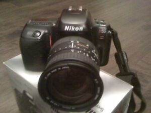 NIKON N50  WITH SIGMA LENS 28-200mm