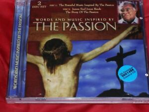 """""""WORDS AND MUSIC INSPIRED BY THE PASSION"""" (Of Jesus Christ) - CD"""