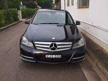 2012 Mercedes-Benz C250 CDI W204 MY12 BlueEFFICIENCY Avantgarde Black 7 Speed Sports Automatic Sedan Petersham Marrickville Area Preview
