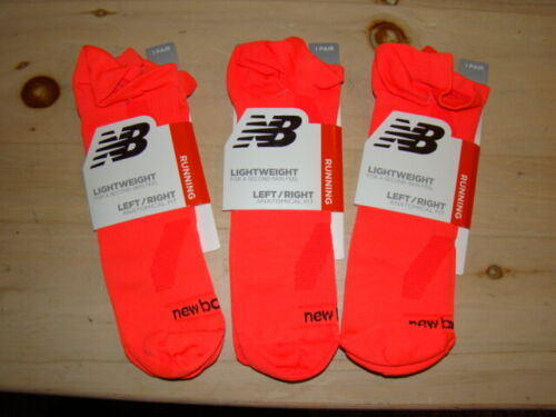 New Balance Running Ankle No Show Socks - Anatomical Fit - 3 pair Size XL Unisex