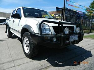 2005 Holden Rodeo RA MY05.5 LX Crew Cab White 5 Speed Manual Crewcab Williamstown North Hobsons Bay Area Preview