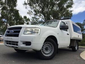 2008 Ford Ranger White 5 Speed Manual Utility Kingston Logan Area Preview