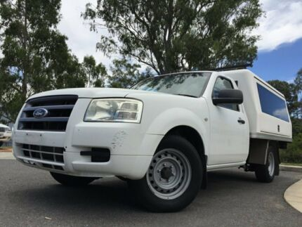 2008 Ford Ranger White 5 Speed Manual Utility Kingston Logan Area Preview