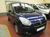 2013 LEFT HAND DRIVE Fiat Doblo 1.6 16v DIESEL WHEELCHAIR ADAPTED DISABLED