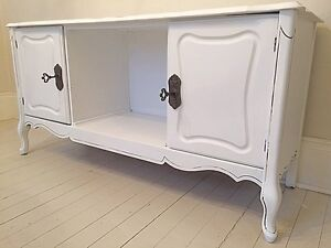 French Provincial Entertainment Stand