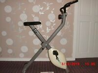 Folding Excercise Bike Good Condition with instruction manual £30