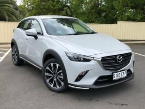 2020 Mazda CX-3 DK2W7A sTouring SKYACTIV-Drive FWD White 6 Speed Sports Automatic Wagon Bridgewater Adelaide Hills Preview