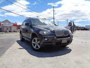 2009 BMW X5 35d MINT! NAVI, RUNNING BOARDS, DIESEL! 416-742-5464