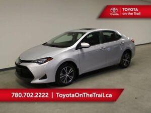 2017 Toyota Corolla LE CVT UPGRADE PKG; LOW KM, SAFETY SENSE, SU
