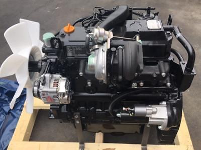 Brand New Yanmar 4tnv98t Komatsu S4d98e Turbo Diesel Engine