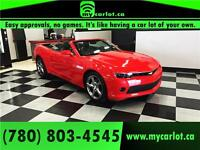 ********2014 Chevrolet Camaro CONVERTIBLE****** YOU ARE APPROVED