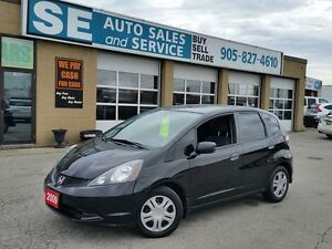 2009 Honda Fit DX-A Hatchback 72 Kms $8499 Certified