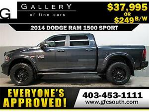 2013 DODGE RAM SPORT LIFTED *EVERYONE APPROVED* $0 DOWN $249/BW