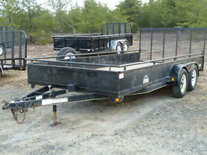 (Used) 2009 Panther 7'x16' Landscape Trailer