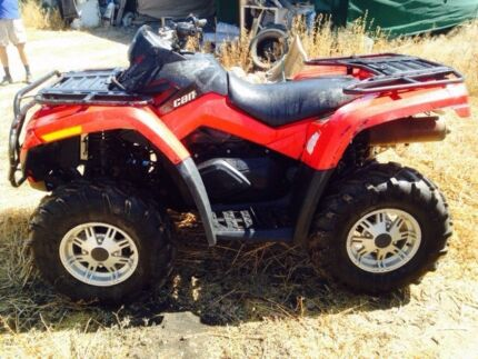 2010 Can am 650 ATV Tingalpa Brisbane South East Preview