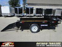 2016 Sure-Trac 6x10 Rampgate Steel high side