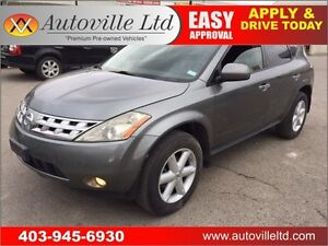 2005 NISSAN MURANO SE LEATHER SUNROOF ONLY 99k!!!!
