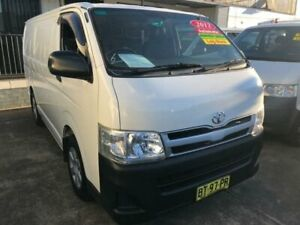 2012 Toyota HiAce TRH201R MY12 Upgrade LWB White 4 Speed Automatic Van Granville Parramatta Area Preview