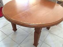 Vintage/antique Timber Table Tanilba Bay Port Stephens Area Preview