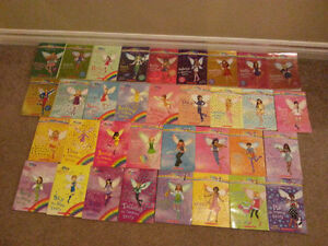 Rainbow Fairies books very large collection