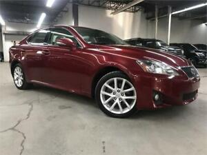 LEXUS IS250 AWD 2012 / CUIR / TOIT / MAGS / 148400KM!