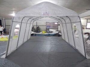 ****Liquidation Toile abris auto style tempo car shelter canvas