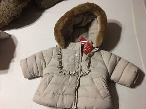 Baby GAP Infant girl winter jacket up to 3 months.