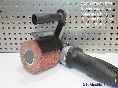 Satiniermaschine Schleifmaschine Poliermaschine, satinieren schleifen polieren