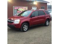 2006 CHEV EQUINOX LS AWD 134kms $6500 OBO MIDCITY 1831 SK AVE