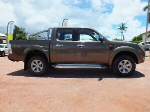 2009 Ford Ranger PK XLT Crew Cab Desert Bronze 5 Speed Manual Utility Rosslea Townsville City Preview