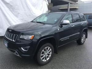 2014 Jeep Grand Cherokee Overland HEMI fully loaded air suspensi
