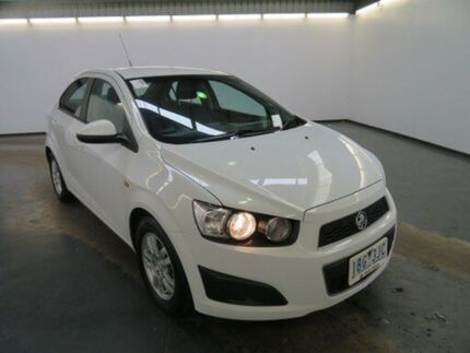 2013 Holden Barina TM MY14 CD White 6 Speed Automatic Sedan Albion Brimbank Area Preview