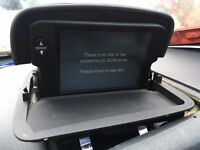 Volvo C70 convertible sat nav screen display - can post