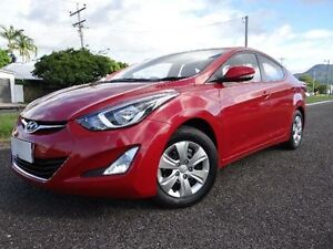 2014 Hyundai Elantra MD Series 2 (MD3) Active Red 6 Speed Automatic Sedan Vincent Townsville City Preview