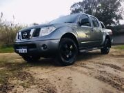 2011 Nissan Navara D40 ST (4x4) Grey 5 Speed Automatic Dual Cab Pick-up Maddington Gosnells Area Preview