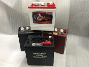 Golf Cart Batteries - 6, 8 & 12 Volt - Excalibur Custom Carts