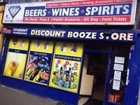 Established Newsagent Business For Sale - Busy Student Area - Potential Expansion - Running Business