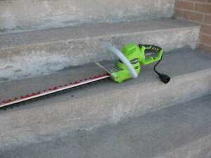 Electric Hedge Trimmer and Grass Trimmer